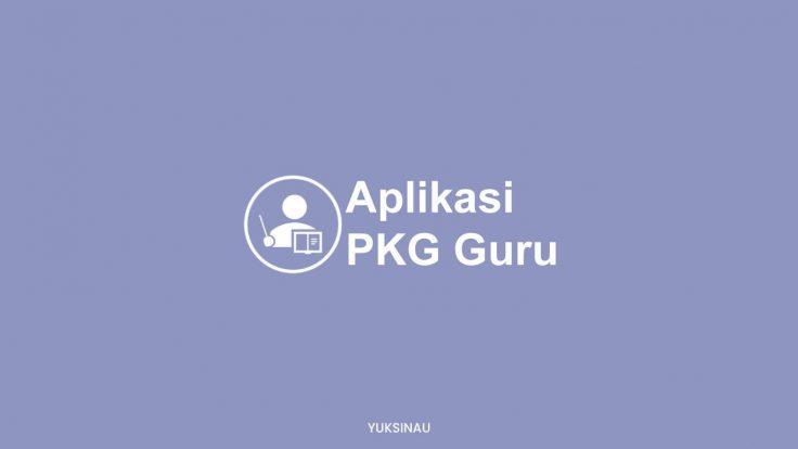 Aplikasi PKG Guru