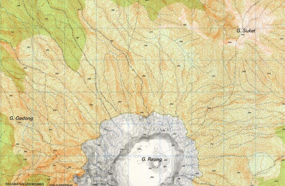 Karakteristik Peta Topografi