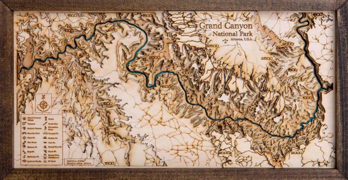 fungsi peta topografi