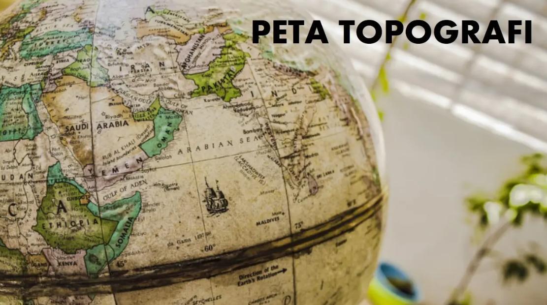 gambar peta topografi